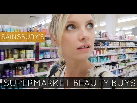 Supermarket Best Beauty Buys | A Model Recommends