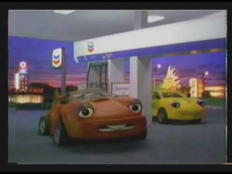 ADs On TWCh CHEVRON Claymation Cars Confident Or Show Off