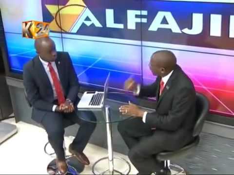 George Wachiuri on K24 Alfajiri Start up 101