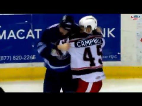 Colin Campbell vs. Julian Melchiori