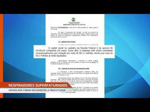 Polícia Federal: Respiradores podem ter sido repassados para prefeituras do Interior de Pernambuco
