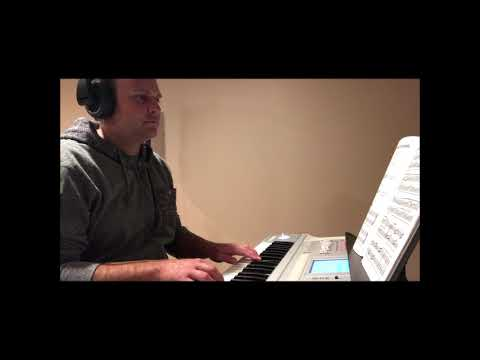 Piano performance of 'Spanish Guitars' in A minor and 'Winter Celebration' in E minor