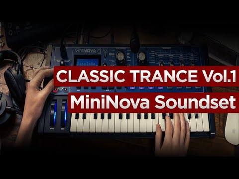 Classic Trance Vol.1 Novation UltraNova / MiniNova SoundSet