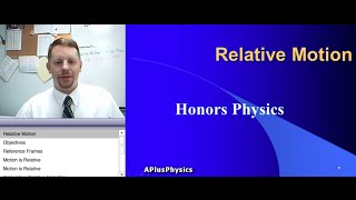 High School Physics - Relative Motion