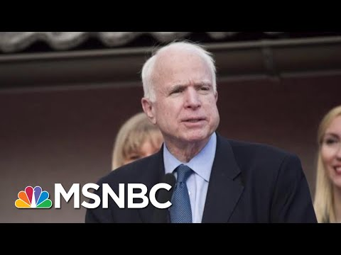 Why Is The GOP Silent As President Donald Trump Attacks McCain? | MTP Daily | MSNBC
