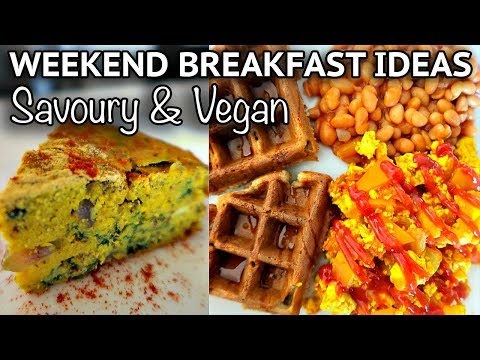 VEGAN BREAKFAST IDEAS FOR THE WEEKEND (SAVOURY) // Cook With Me