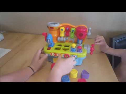 Best Choice Products Musical Learning Pretend Play Tool Workbench Toy is such a cute toy for any lit