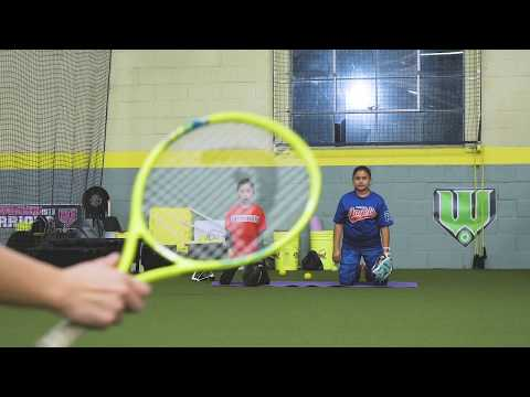 Morgan Stuart Softball // Defense Lessons Online // Drill Of The Week // Tennis Ball Knee Picks
