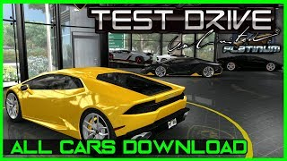 TEST DRIVE UNLIMITED 1 PLATINUM   ALL CARS (Download)