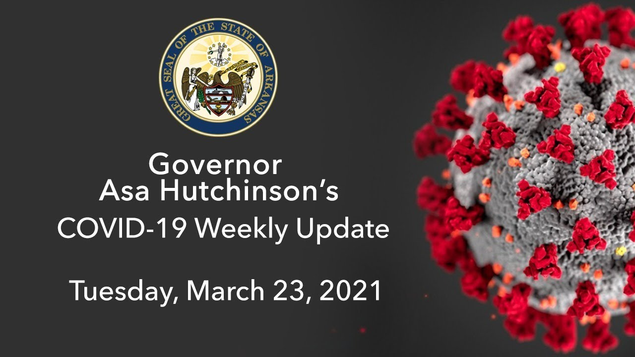LIVE: Governor Hutchinson Provides Weekly COVID-19 Update (03.23.21)