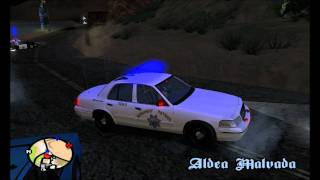 California Highway Patrol Pursuit/Shootout - GTA SA