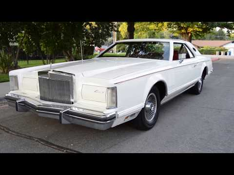 Video of '78 Continental Mark V - LY8Z