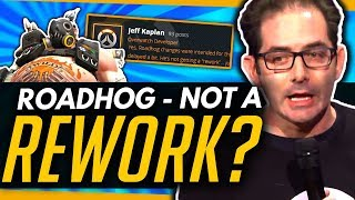 Overwatch | Roadhog - New Animation but NOT A REWORK?! [Quick News]