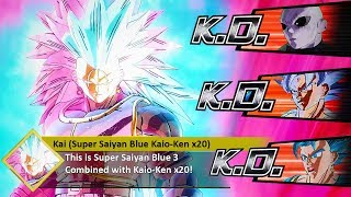 So My STRONGEST CAC Turned Into A SUPER SAIYAN BLUE 3 KAIO-KEN X20! *NEW* Form! Xenoverse 2 MOD