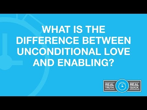 What Is The Difference Between Unconditional Love and Enabling?