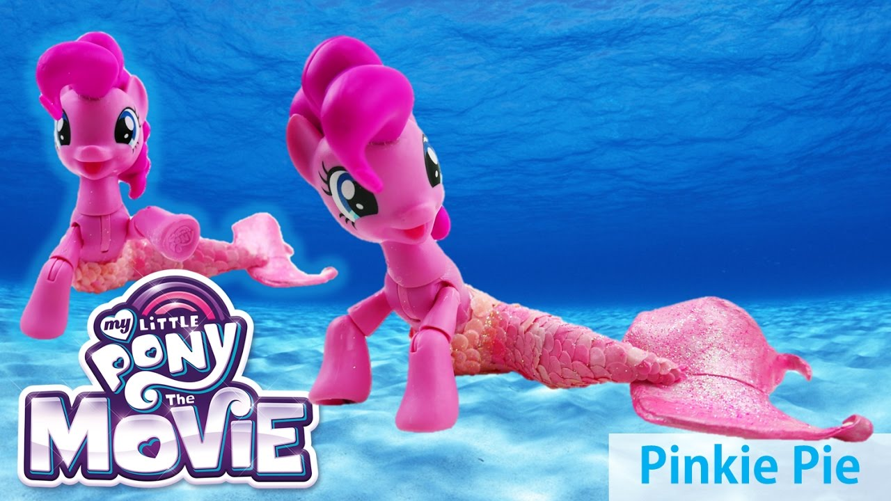My Little Pony Mermaid Pinkie Pie Sea Pony - MLP The Movie (2017) Custom Pony Tutorial