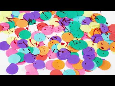 Confetti ensanglatés pour Halloween