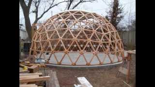 Geodesic Dome Building In A Minute And A Half