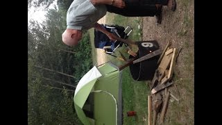 preview picture of video 'DAD & ME CAMPING BY FIRE'