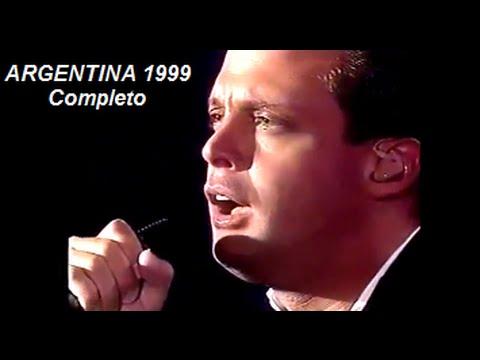 Luis Miguel. Argentina 1999 Completo