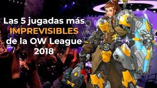 Las 5 jugadas más IMPREVISIBLES de la Overwatch League 2018