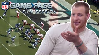 The Mindset in the Red Zone with Carson Wentz   NFL Film Sessions