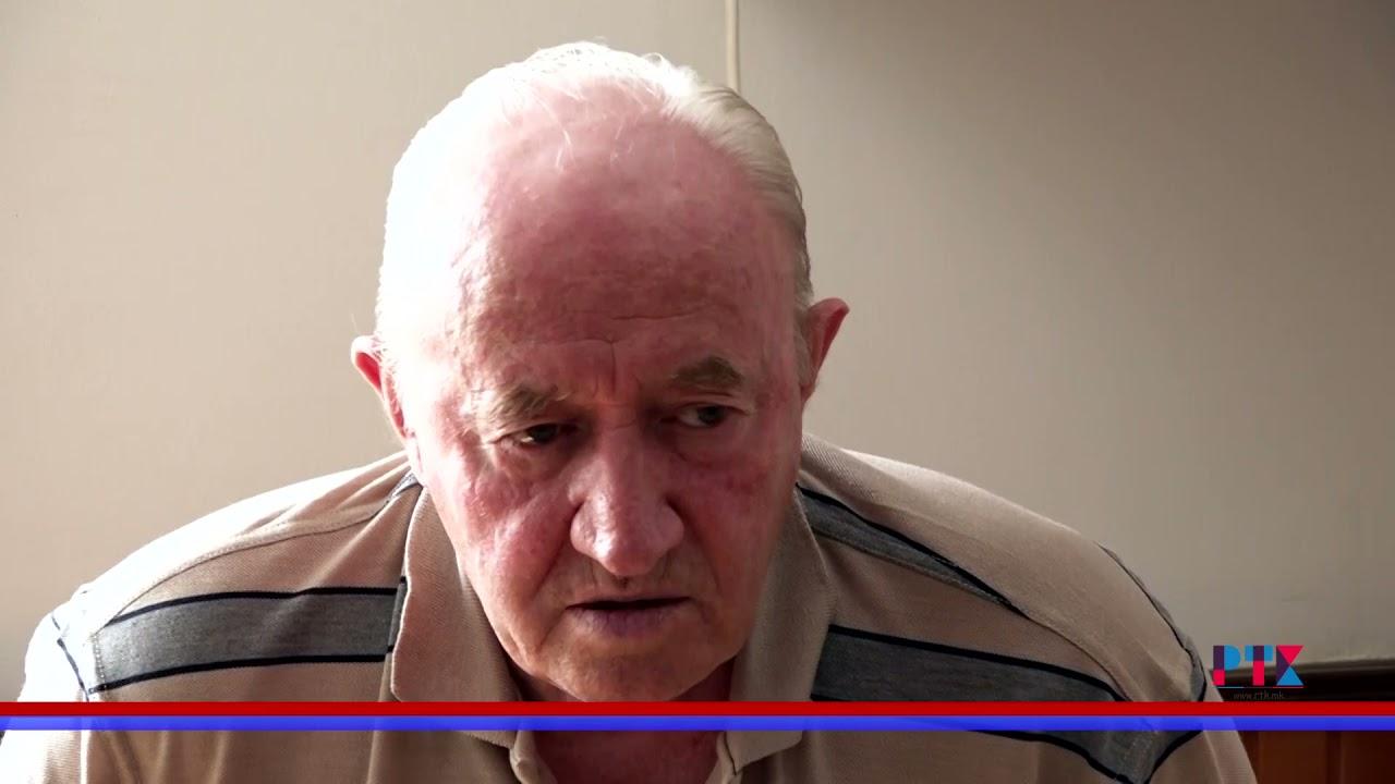 Повод за разговор со Диме Коцев- претседател на Здружение на пензионери Кавадарци.