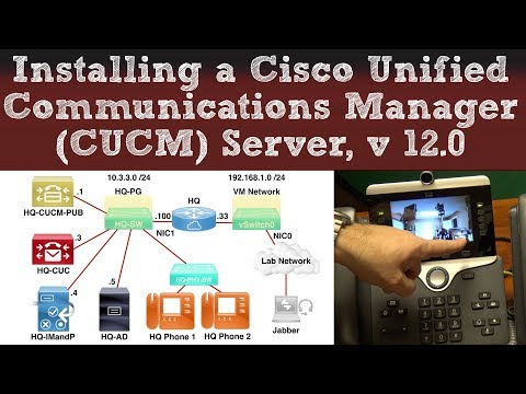 Installing a Cisco Unified Communications Manager (CUCM) Server ...
