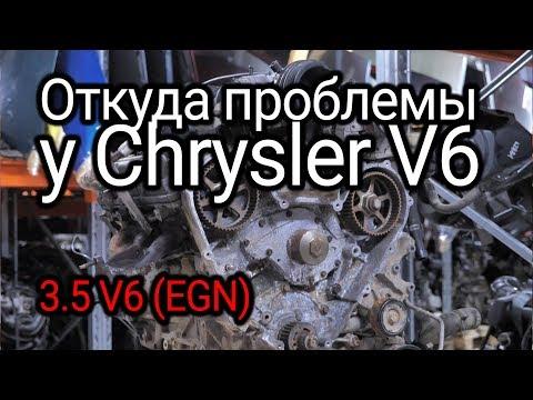 Фото к видео: Что не так с двигателем Chrysler Pacifica V6 (EGN)?