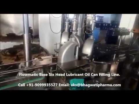 Oil Filling Machine for Bottle, Jar, Tin