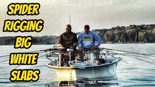 Spider Rigging big Lake Darbonne crappie-Krappie Kings S2 eps02
