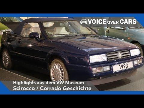 VW Scirocco und VW Corrado Geschichte VW Museum 2016 Voice over Cars