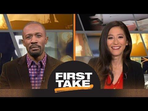 First Take makes CFP Semifinals predictions [Georgia-Oklahoma, Alabama-Clemson] | First Take | ESPN