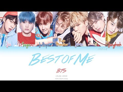 BTS (ft. The Chainsmokers) - Best Of Me (Color Coded Han|Rom|Eng Lyrics)
