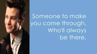 Glee - Being Alive lyrics