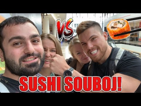 RUNNING SUSHI - KDO SNÍ VÍC?! JDEMEŽRÁT VS. KAMFIT!