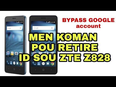 Koman ou retire baypas ou telefòn zte - смотреть онлайн на
