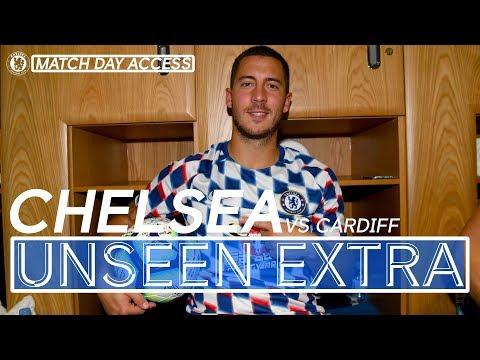 Tunnel Access: Hat-Trick Hero Hazard Helps Chelsea Win 4-1 Vs Cardiff | Chelsea Unseen Extra