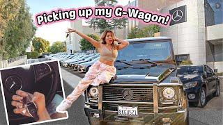 I GOT MY CHILDHOOD DREAM CAR! Mercedes-Benz G-Wagon Reveal and Tour