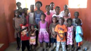 preview picture of video 'Haitian National Anthem sang by Love Orphanage'