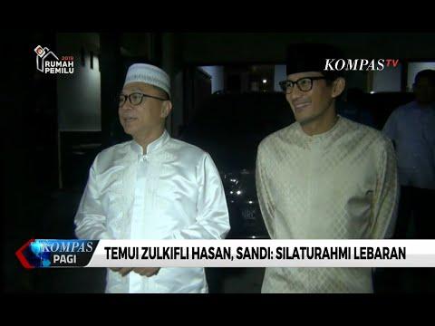 Temui Zulkifli Hasan, Sandi: Silaturahmi Lebaran