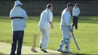preview picture of video 'Ampthill Cricket: Annual Loo Seat Trophy Game - Ampthill vs Flitwick'