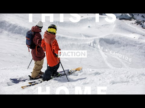 Henry Sildaru chasing Candide Thovex