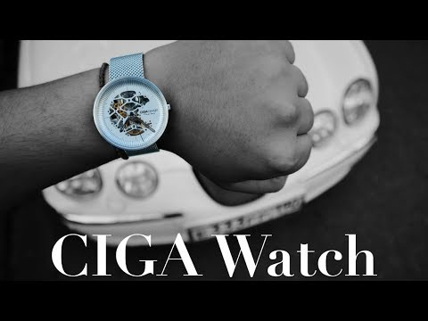 Xiaomi CIGA Design Watch - Премиум от XIAOMI ?