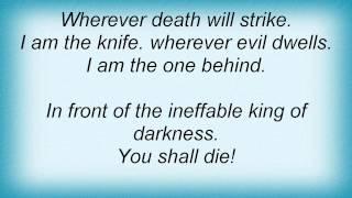 Dark Funeral - Ineffable King Of Darkness Lyrics
