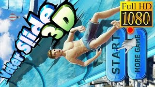Water Slide 3D Game Review 1080P Official Words MobileAction 2016