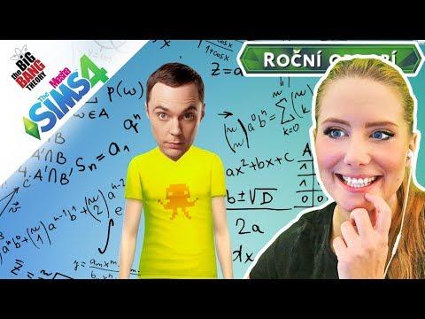 NOVÁ SÉRIE! Teorie velkého třesku - Vytváření Sheldona ● The Sims 4 – 01