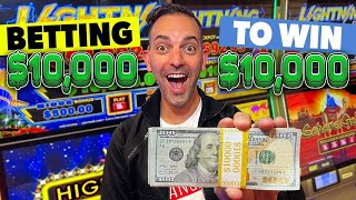 💵 Betting $10,000 to WIN $10,000 💵