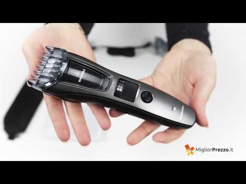 Regolabarba Panasonic ER-GB60-K503 Video Recensione