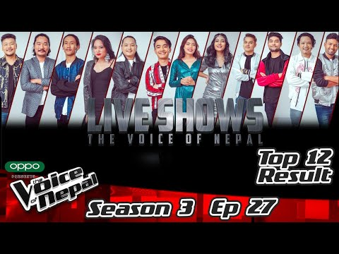 The Voice of Nepal Season 3 - 2021 - Episode 27 (Live Results)